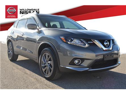 2016 Nissan Rogue SL Premium (Stk: N364A) in Thornhill - Image 1 of 28