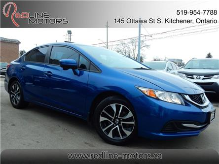 2015 Honda Civic EX (Stk: 2HGFB2) in Kitchener - Image 1 of 26