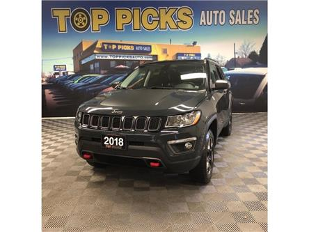 2018 Jeep Compass Trailhawk (Stk: 417475) in NORTH BAY - Image 1 of 27