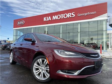 2016 Chrysler 200 Limited|CLEAN CARFAX|SUNROOF|BU CAM|HTD SEATS (Stk: P13047) in Georgetown - Image 2 of 32