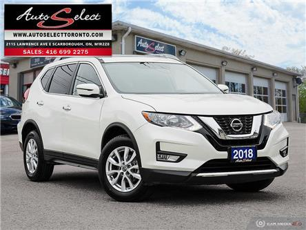 2018 Nissan Rogue AWD (Stk: R1NWV2) in Scarborough - Image 1 of 30