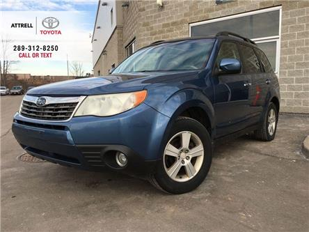 2009 Subaru Forester PREMIUM 5 SPD, FOG LAMPS, ALLOYS, SUNROOF, HEATED (Stk: 45801A) in Brampton - Image 1 of 24