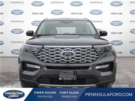 2020 Ford Explorer Platinum (Stk: 20EX06) in Owen Sound - Image 2 of 25