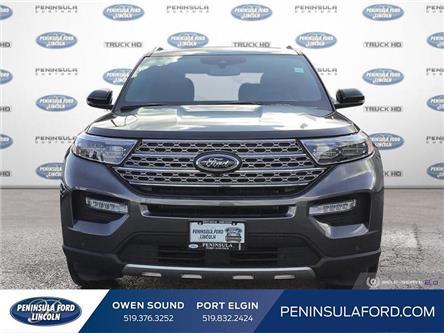 2020 Ford Explorer Limited (Stk: 20EX12) in Owen Sound - Image 2 of 25