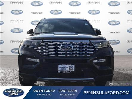 2020 Ford Explorer Platinum (Stk: 20EX10) in Owen Sound - Image 2 of 25