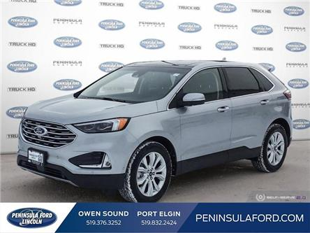 2020 Ford Edge Titanium (Stk: 20ED07) in Owen Sound - Image 1 of 25