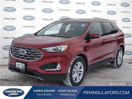 2020 Ford Edge SEL (Stk: 20ED06) in Owen Sound - Image 1 of 24