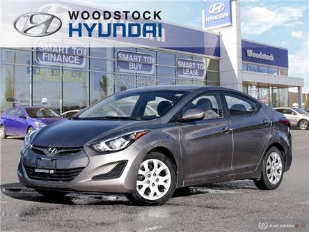 2015 Hyundai Elantra GL (Stk: P1457) in Woodstock - Image 1 of 27