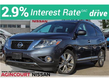 2014 Nissan Pathfinder Hybrid Platinum Premium (Stk: U12730A) in Scarborough - Image 1 of 34