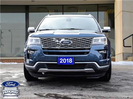 2018 Ford Explorer Platinum (Stk: ZA312A) in Waterloo - Image 2 of 29