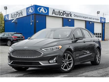 2019 Ford Fusion Hybrid Titanium (Stk: 19-27081MB) in Georgetown - Image 1 of 21