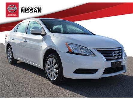 2014 Nissan Sentra 1.8 SV (Stk: N343A) in Thornhill - Image 1 of 25