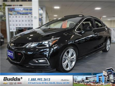 2017 Chevrolet Cruze Premier Auto (Stk: CR7021L) in Oakville - Image 1 of 25