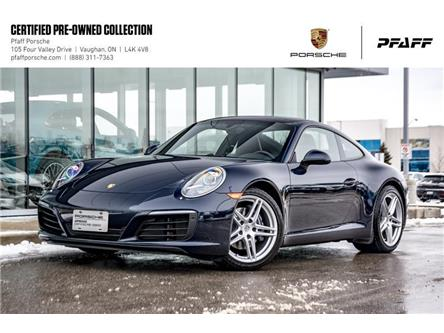 2017 Porsche 911 Carrera Coupe (991) w/ PDK (Stk: P15093A) in Vaughan - Image 1 of 22