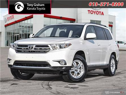 2013 Toyota Highlander V6 (Stk: 90000A) in Ottawa - Image 1 of 28
