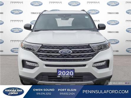 2020 Ford Explorer XLT (Stk: 20EX07) in Owen Sound - Image 2 of 23