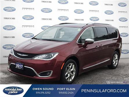 2017 Chrysler Pacifica Limited (Stk: 19ES114A) in Owen Sound - Image 1 of 25