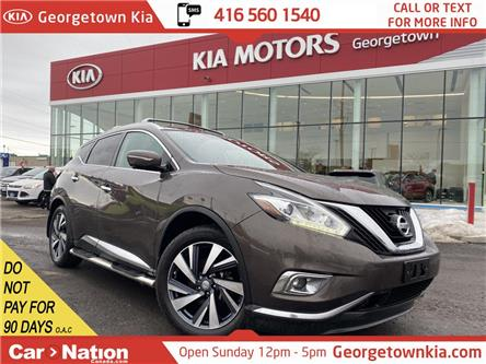 2015 Nissan Murano Platinum | AWD | PANO ROOF | 360 CAM | LEATHER | (Stk: P13032) in Georgetown - Image 1 of 36