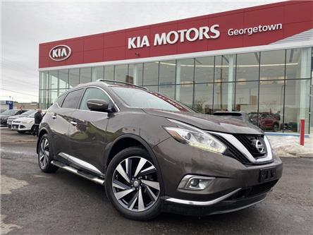 2015 Nissan Murano Platinum | AWD | PANO ROOF | 360 CAM | LEATHER | (Stk: P13032) in Georgetown - Image 2 of 36
