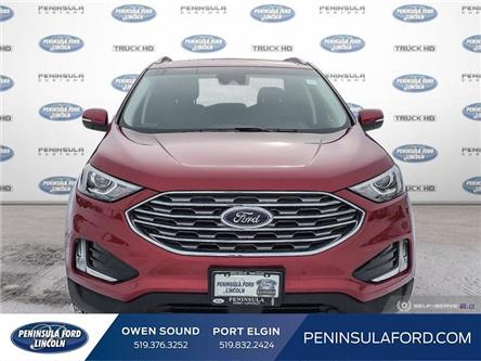 2020 Ford Edge SEL (Stk: 20ED06) in Owen Sound - Image 2 of 24