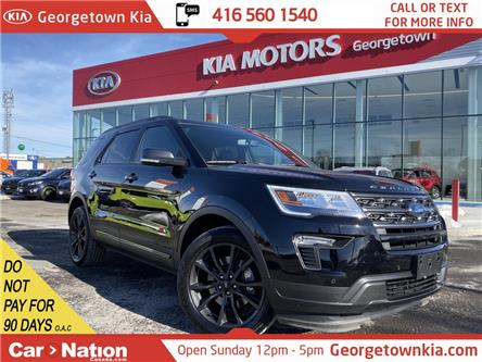 2018 Ford Explorer XLT | NAVI | PANO ROOF | LEATHER | AWD | 7 PASS (Stk: P13055) in Georgetown - Image 1 of 35