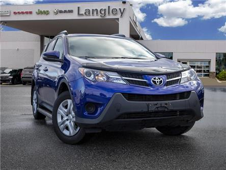 2014 Toyota RAV4 LE (Stk: K664926A) in Surrey - Image 1 of 22