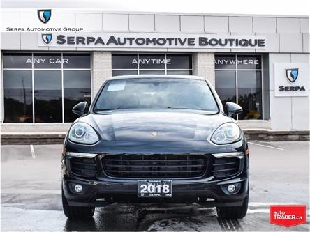2018 Porsche Cayenne Platinum Edition (Stk: P1333A) in Aurora - Image 2 of 30