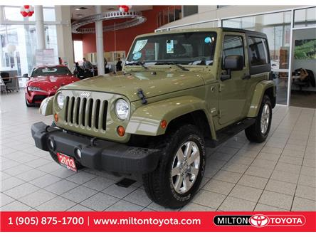 2013 Jeep Wrangler Sahara (Stk: 617600) in Milton - Image 1 of 32