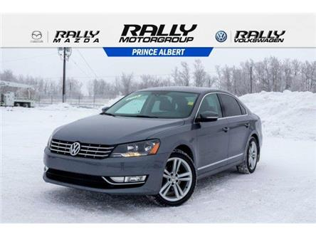 2013 Volkswagen Passat 2.0 TDI Highline (Stk: V892) in Prince Albert - Image 1 of 11