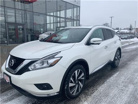 2018 Nissan Murano Platinum (Stk: T20083A) in Kamloops - Image 1 of 29