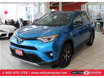 2016 Toyota RAV4 SE (Stk: 443411A) in Milton - Image 1 of 37