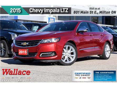 2015 Chevrolet Impala LTZ | 2LZ | LEATHER | SUNROOF | NAVI | REAR CAM (Stk: 577413A) in Milton - Image 1 of 29