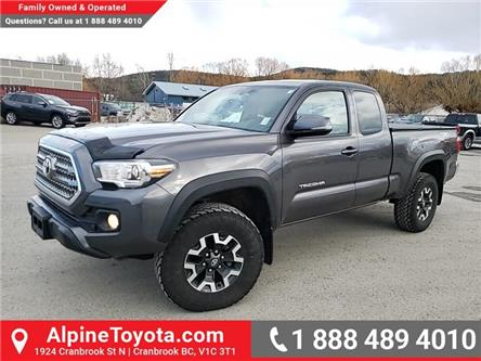 2016 Toyota Tacoma TRD Off Road (Stk: X013028M) in Cranbrook - Image 1 of 25