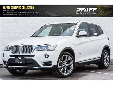 2016 BMW X3 xDrive28d (Stk: D12822) in Markham - Image 1 of 20