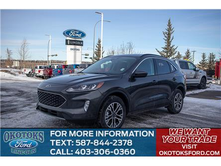 2020 Ford Escape SEL (Stk: L-77) in Okotoks - Image 1 of 5