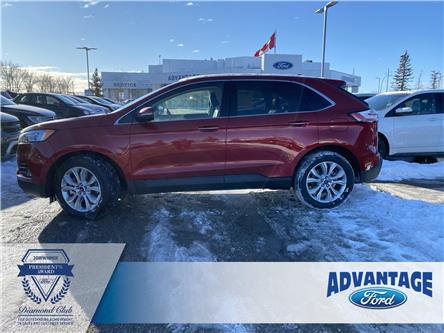 2020 Ford Edge Titanium (Stk: L-514) in Calgary - Image 2 of 7