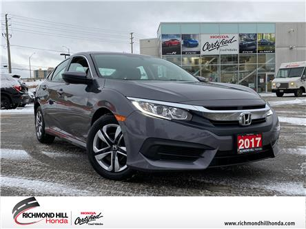 2017 Honda Civic LX (Stk: 202366A) in Richmond Hill - Image 1 of 17