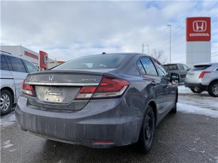 2014 Honda Civic Touring (Stk: H6127A) in Waterloo - Image 2 of 3