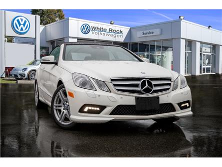2011 Mercedes-Benz E-Class Base (Stk: VW0974B) in Vancouver - Image 1 of 19