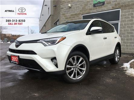 2017 Toyota RAV4 RAV4 LIMITED LEATHER, SUNROOF, ALLOY, HEATED STEER (Stk: 46386A) in Brampton - Image 1 of 27