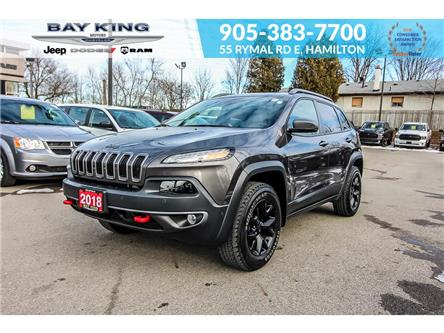 2018 Jeep Cherokee Trailhawk (Stk: 197653A) in Hamilton - Image 1 of 22