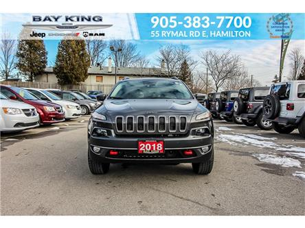 2018 Jeep Cherokee Trailhawk (Stk: 197653A) in Hamilton - Image 2 of 22