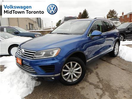 2016 Volkswagen Touareg  (Stk: W1322A) in Toronto - Image 1 of 25