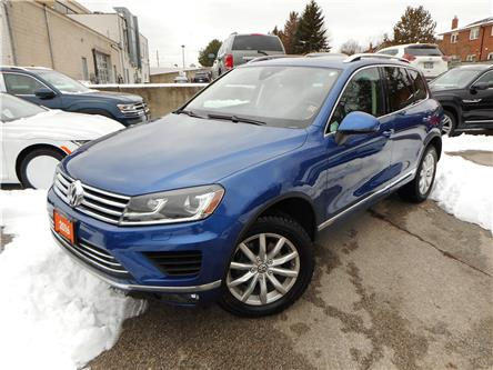 2016 Volkswagen Touareg  (Stk: W1322A) in Toronto - Image 2 of 25