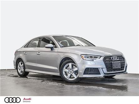 2017 Audi A3 2.0T Progressiv (Stk: PA659) in Ottawa - Image 1 of 20