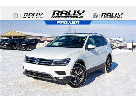 2018 Volkswagen Tiguan Highline (Stk: V874A) in Prince Albert - Image 1 of 11