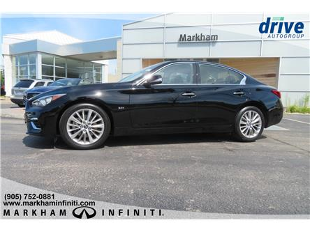 2019 Infiniti Q50 3.0t LUXE (Stk: P3455) in Markham - Image 2 of 23