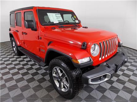 2020 Jeep Wrangler Unlimited Sahara (Stk: 20-62) in Huntsville - Image 1 of 26