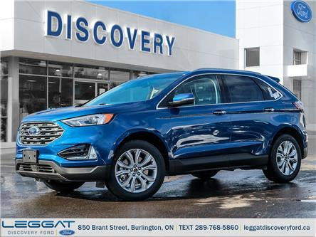2020 Ford Edge Titanium (Stk: ED20-52610) in Burlington - Image 1 of 19