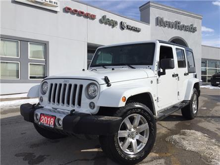 2018 Jeep Wrangler JK Unlimited Sahara (Stk: 24675P) in Newmarket - Image 1 of 20